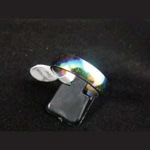 Other - Men Rainbow Stainless Steel Ring Sz 10